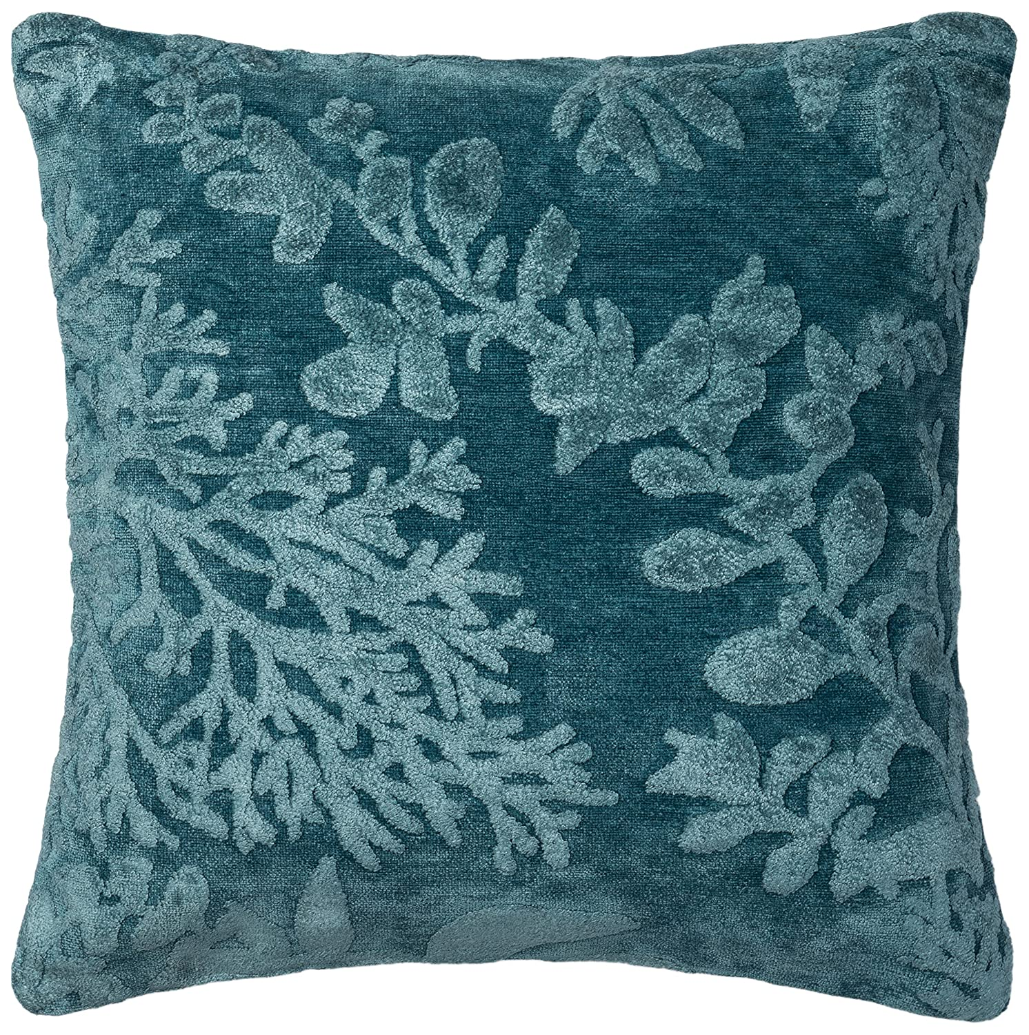 """Loloi GPI03 Cotton and Viscose/Polyester Pillow Cover, 22"""" x 22"""", Blue/Berry 22"""" x 22"""" P097GPI03BBBYPIL3"""