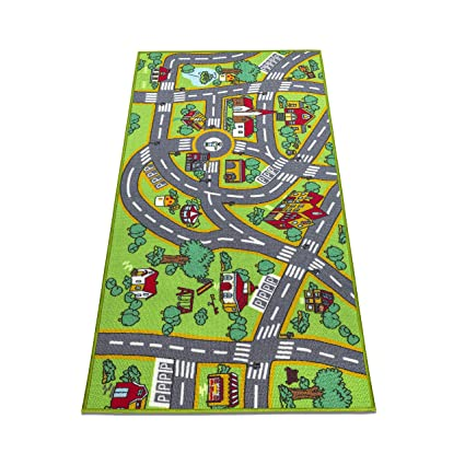 Amazon Com Amy Delle Kids Rug Large Play Mat 32 X 60 Thick