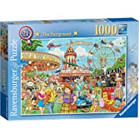 Ravensburger 13990 Best of British No.21-The Fairground, 1000pc Jigsaw Puzzle,