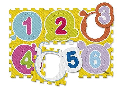 128 opinioni per Chicco 7161- Tappeto Puzzle, Numeri