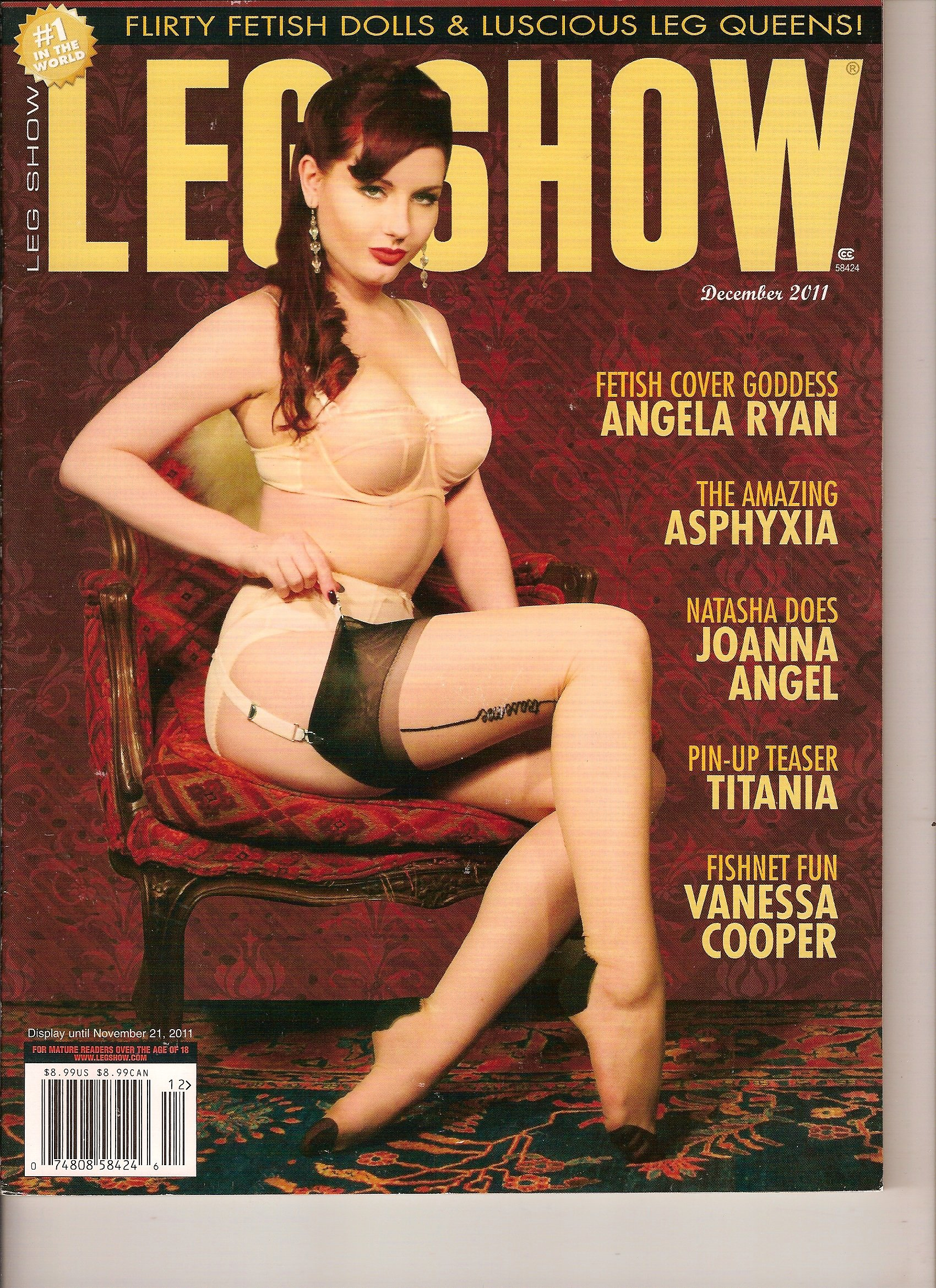 Angela Ryan Leg Show