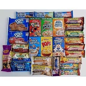 best selling Grab 'N Go Breakfast Variety Pack - Ultimate Snack Gift Box for Quick Breakfast Snacks / Care Package