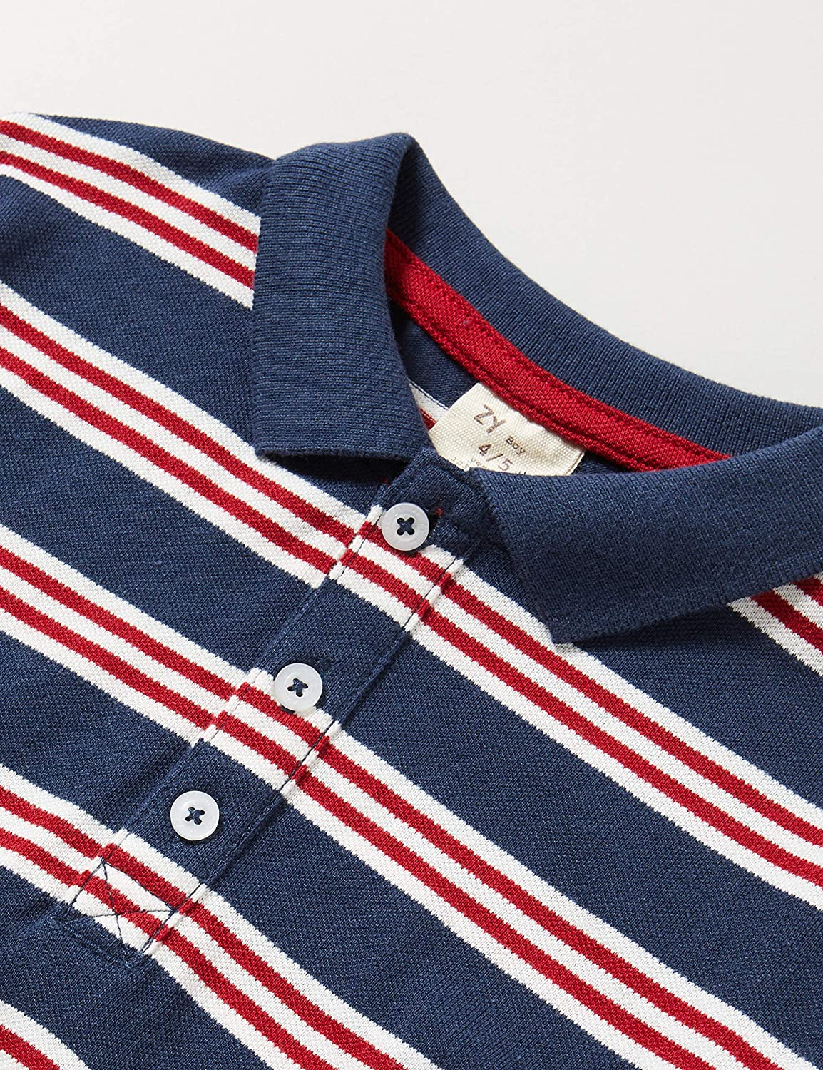 ZIPPY Boys Polo Manga Larga Shirt