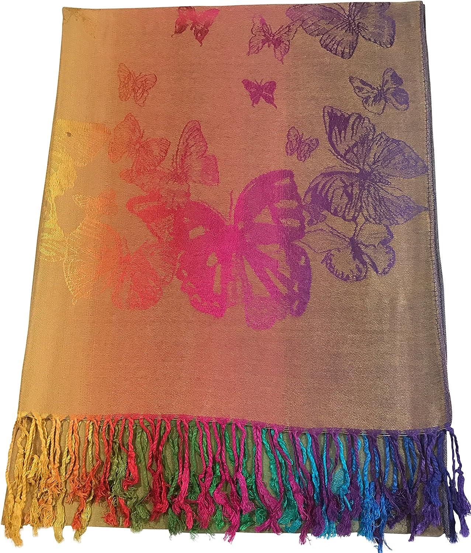 Butterfly Shawl Scarf Wrap...