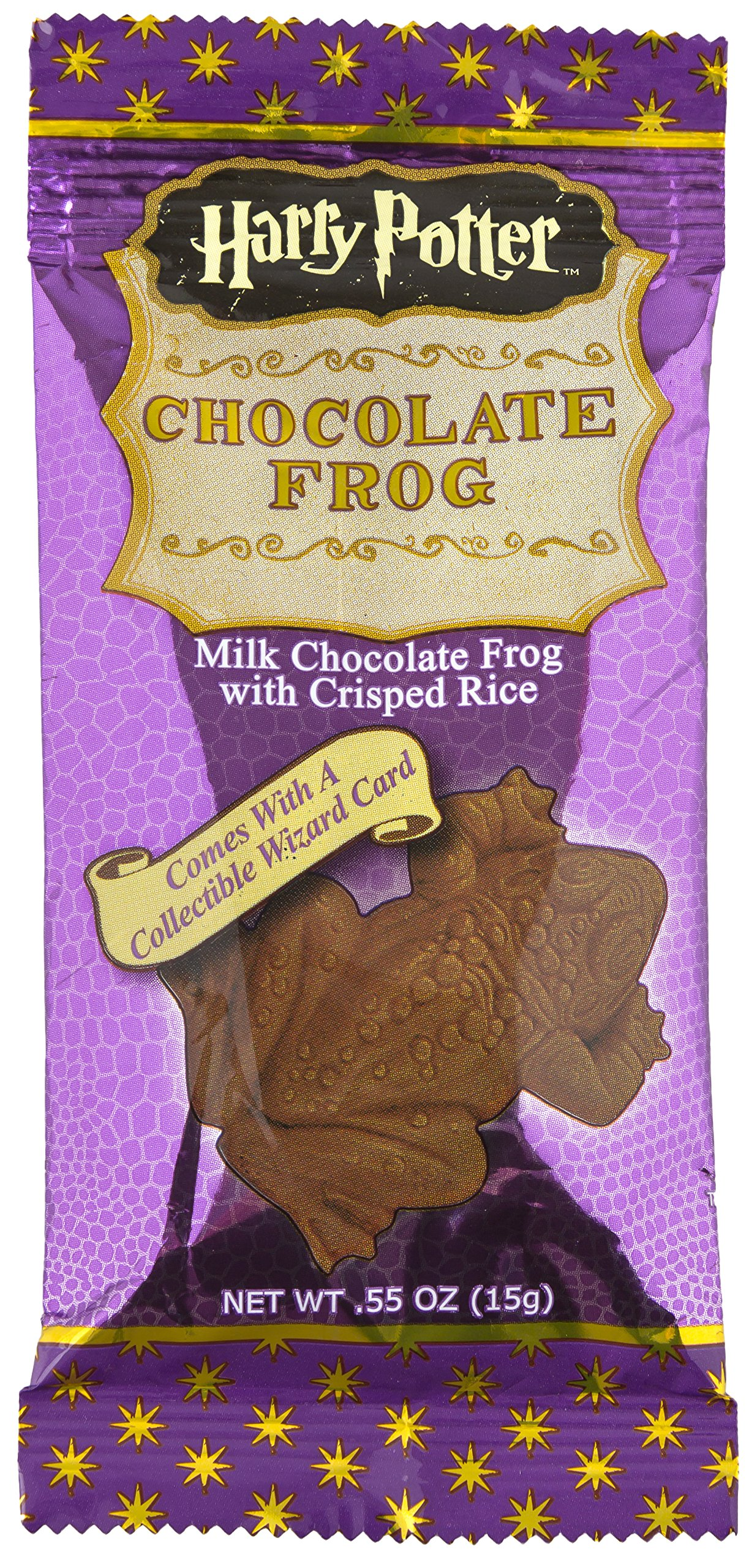 Amazoncom Harry Potter Milk Chocolate Frog With Collectible