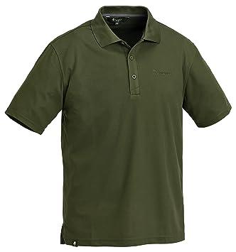 Pinewood Herren Poloshirt Ramsey Pique Shirt, Grün, S, 9458-100