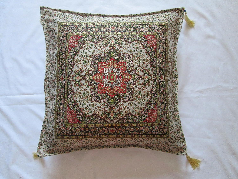 haha-designs Turco Vintage Look Floral Seda Tapiz Borla para ...