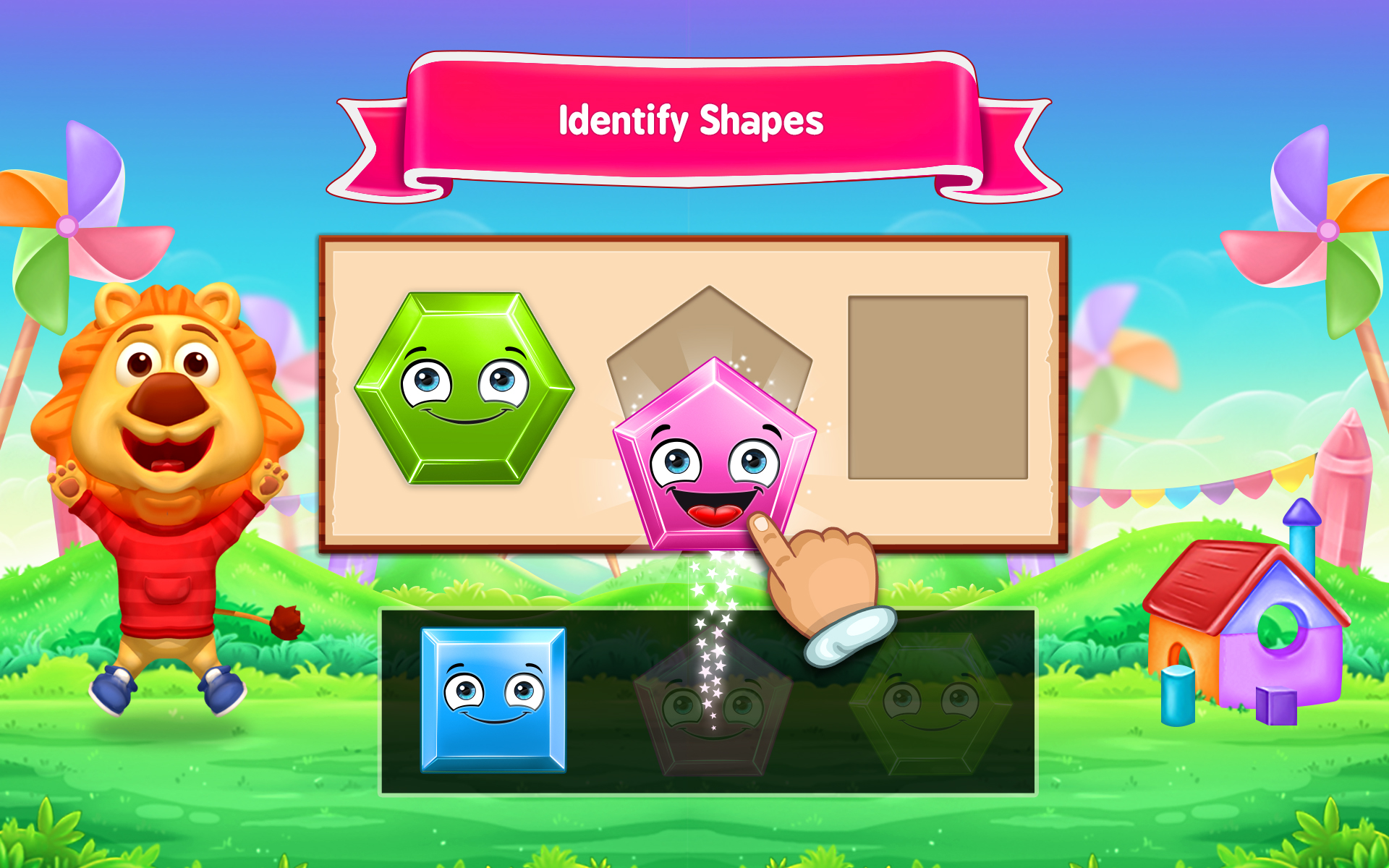 Amazon.com: Colors & Shapes - Kids Learn Color and Identify Shape ...