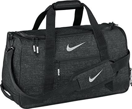 0e83c80f2ea9 Amazon.com  Nike Sport III Golf Duffle Bag (Black Heather)  Sports ...
