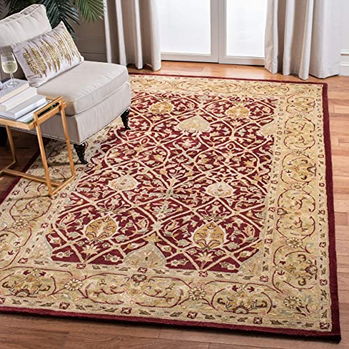 Safavieh Persian Legend Collection PL819K Handmade Traditional Red and Gold Wool Area Rug 2 6 x 4