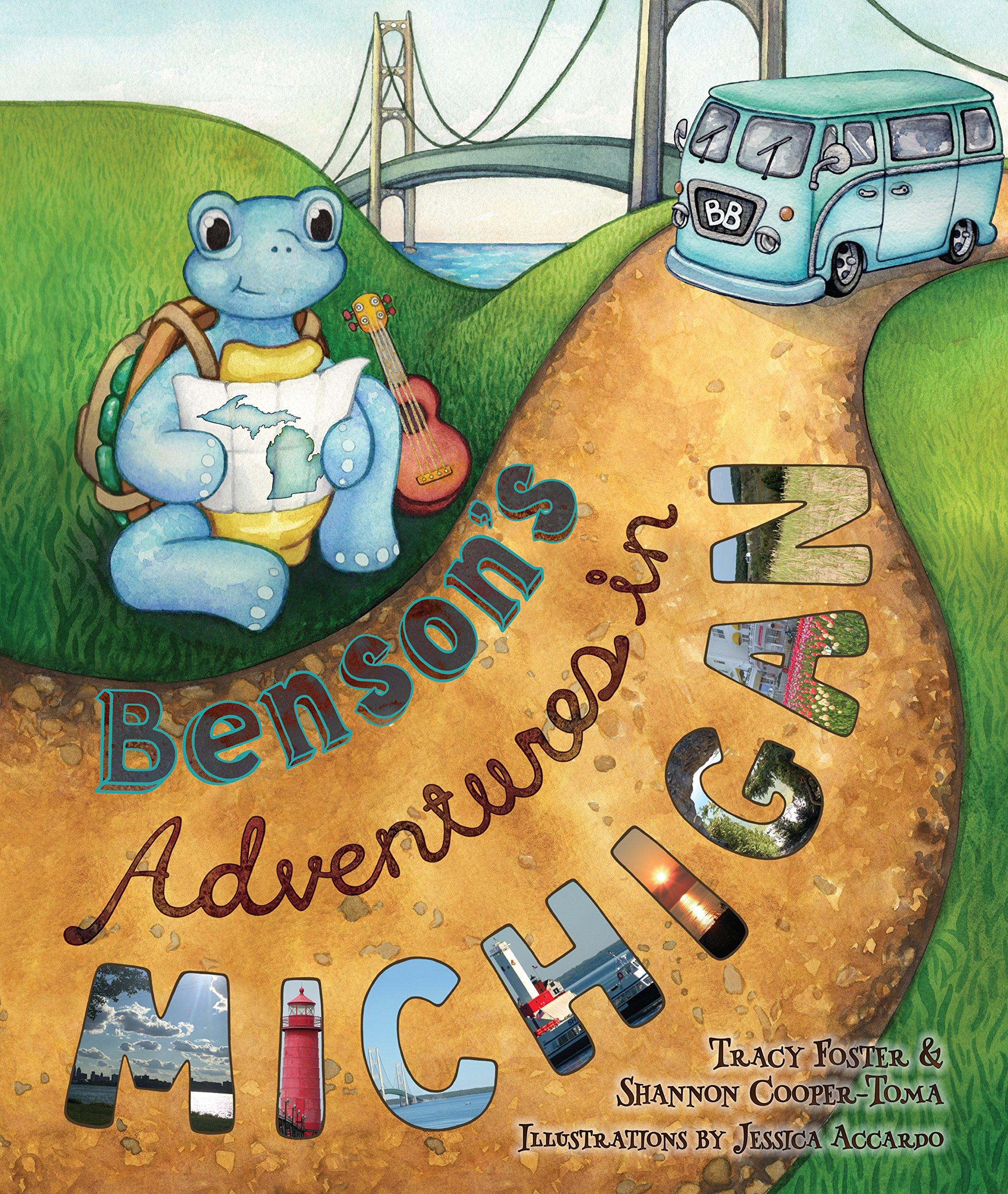 Amazon.com: Bensons Adventures in Michigan (9780998006604 ...