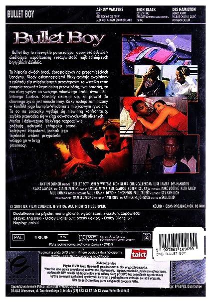 Bullet Boy DVD Region 2 English audio  English subtitles