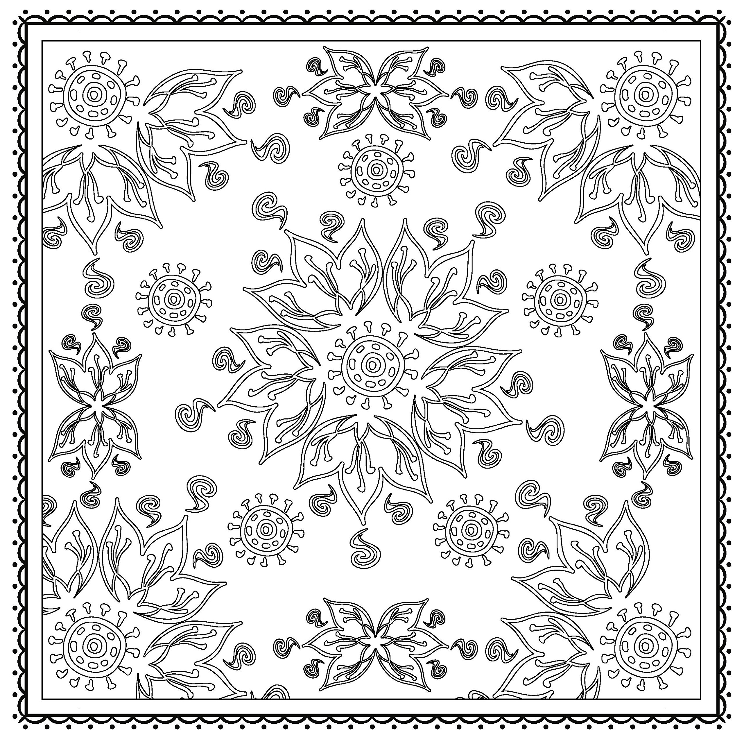 Winter magic beautiful holiday patterns coloring book for Coloring books for adults on amazon