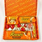 Reese's American Sweets Valentines Day Gift Box - Love Chocolate Peanut Butter by Dolci Di Lechlade