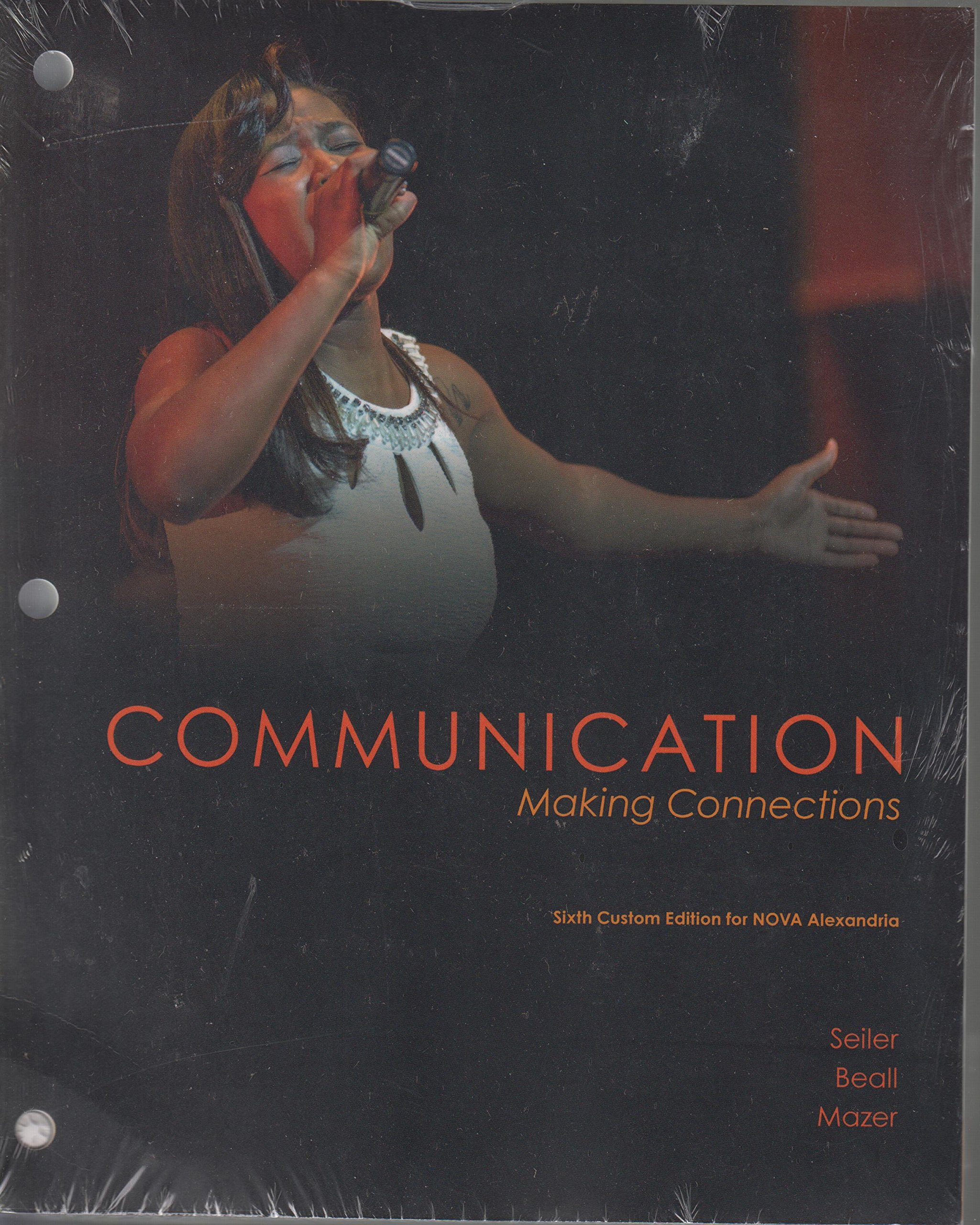 Read Online COMMUNICATION Making Connection PDF