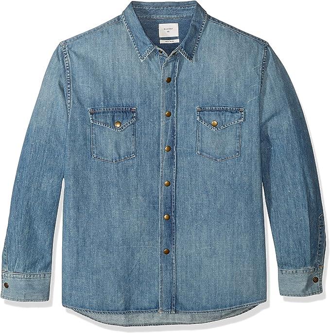 billy reid chambray shirt