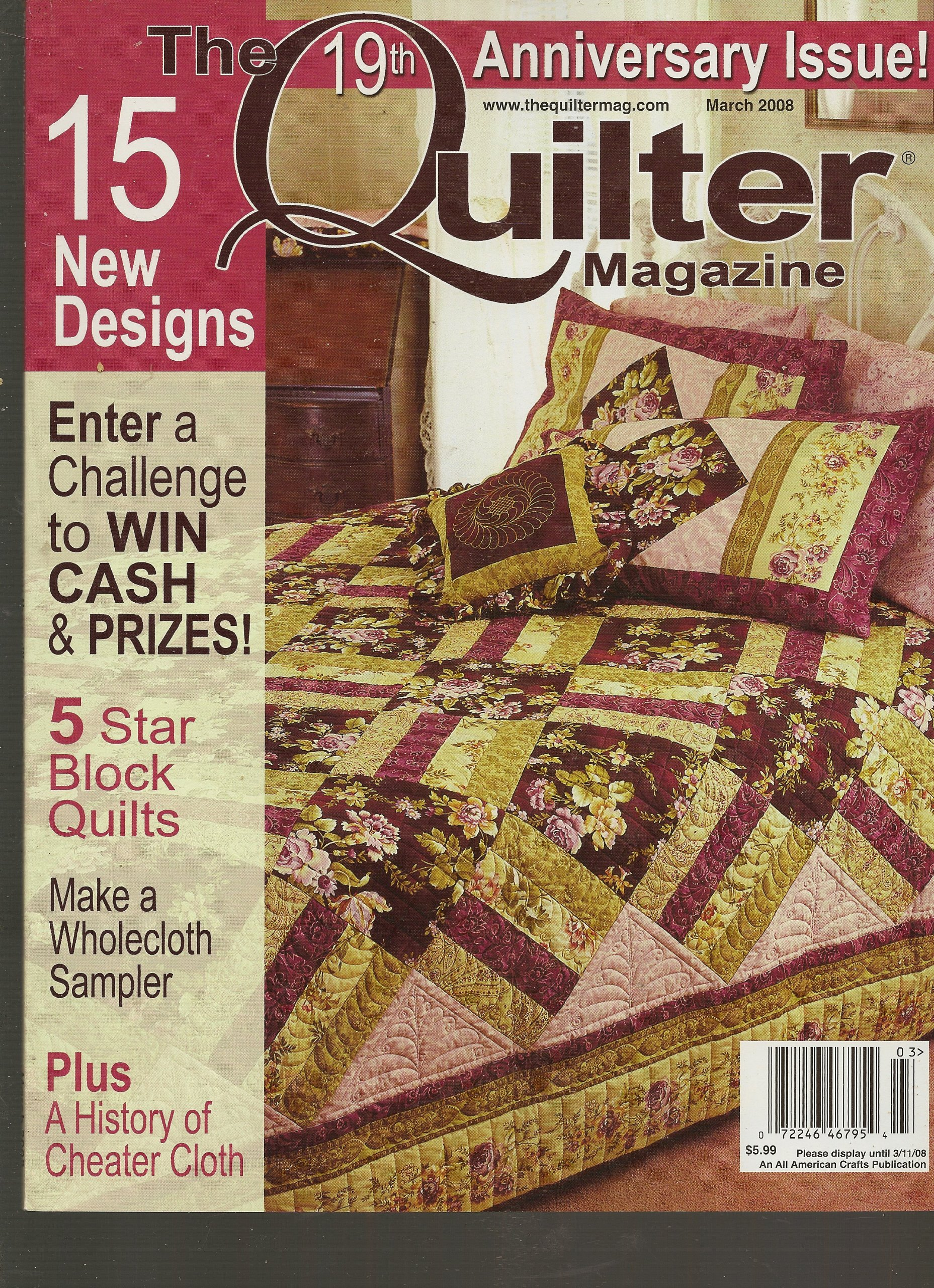 The Quilter Magazine, March 2008 (Issue No. 124)