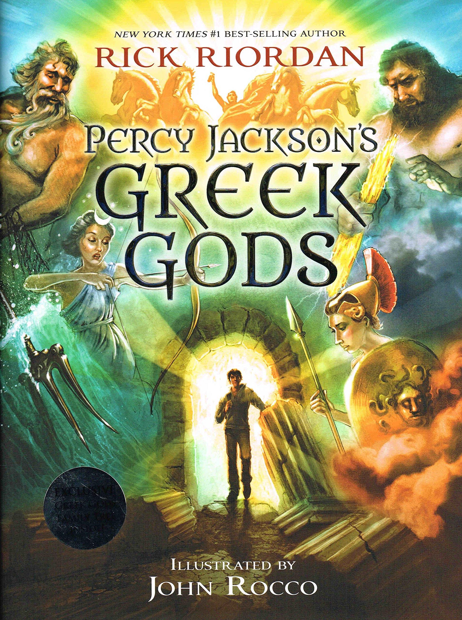 percy jackson s greek gods rick riordan 本 通販 amazon
