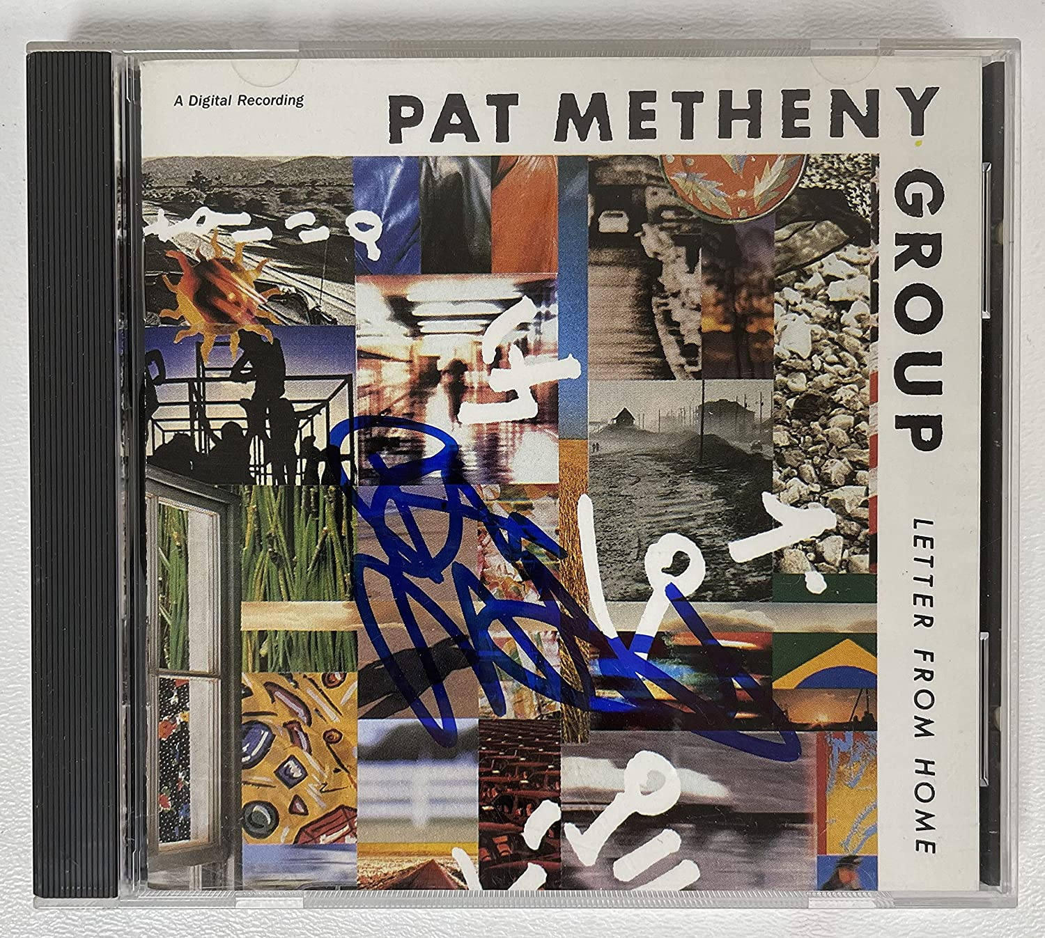 Pat Metheny Signed Autographed 'Letter From Home' Music CD - COA Matching Holograms