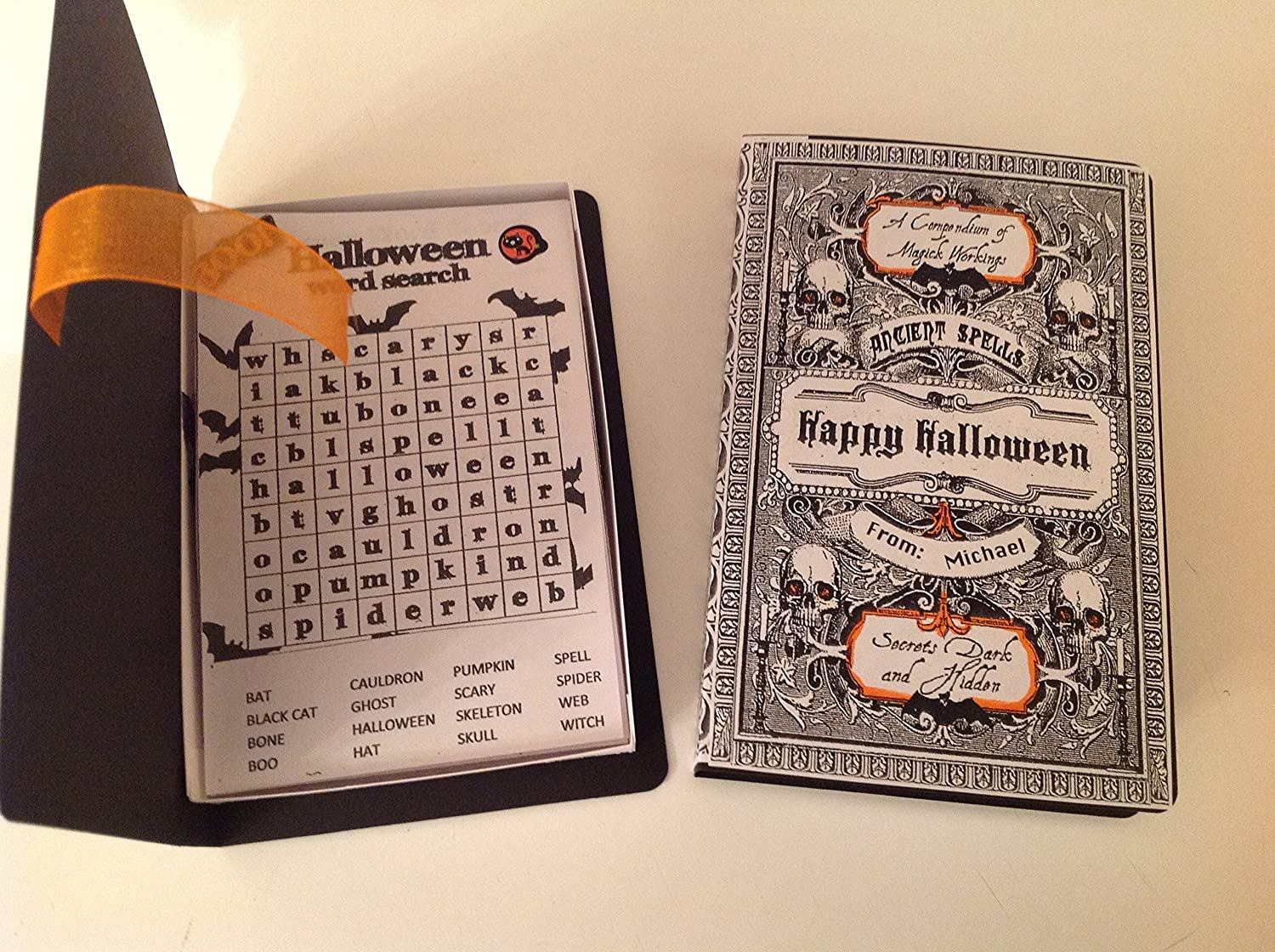 Amazon com: Halloween Book With Word Search Puzzles (6