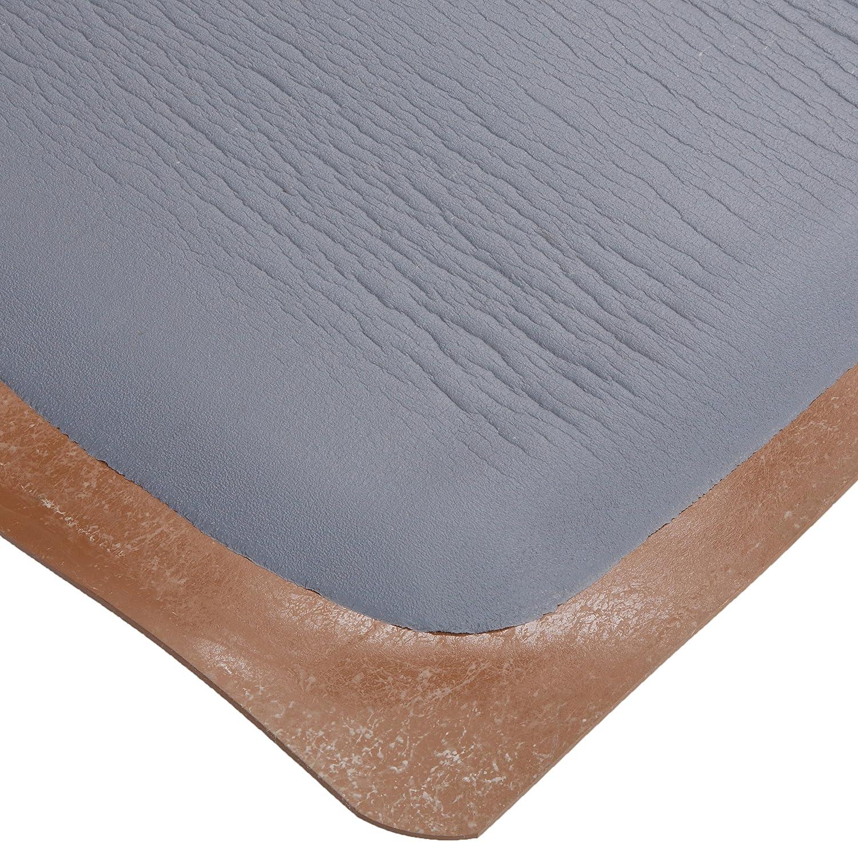 Rhino Mats BRH-3660RDSGY Rhino Hide Beauty Salon Non-Porous Vinyl Rectangle Mat Gray 3/' Width x 5/' Length x 7//8 Thickness Ranco Industries Inc 3 Width x 5 Length x 7//8 Thickness
