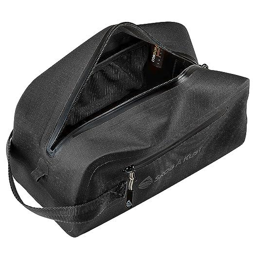 9b9668985f1c Såk Gear DoppSåk Waterproof & Leak-Proof Travel Toiletry Bag | Black