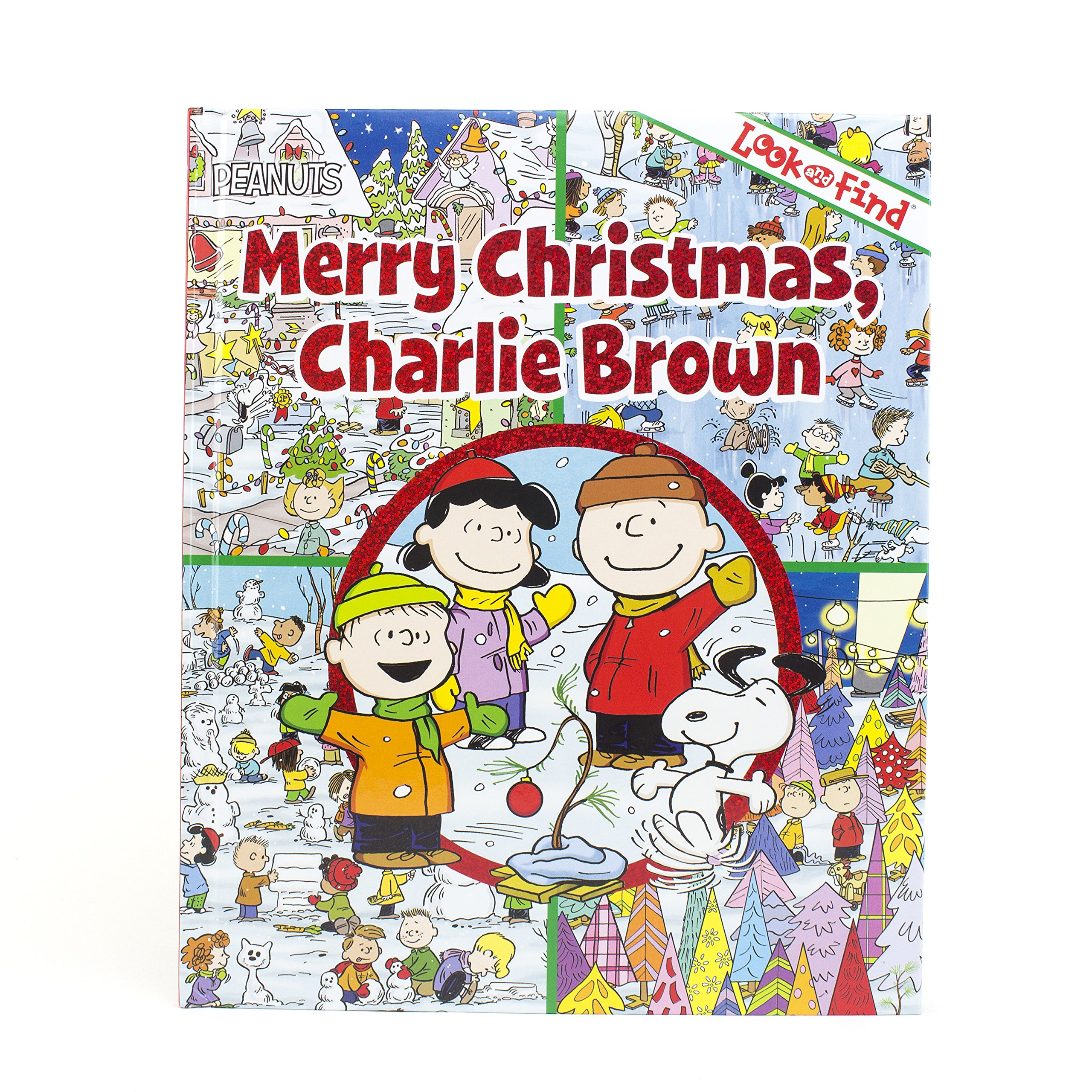 Snoopy Merry Christmas Images.Peanuts Merry Christmas Charlie Brown Look And Find Pi Kids