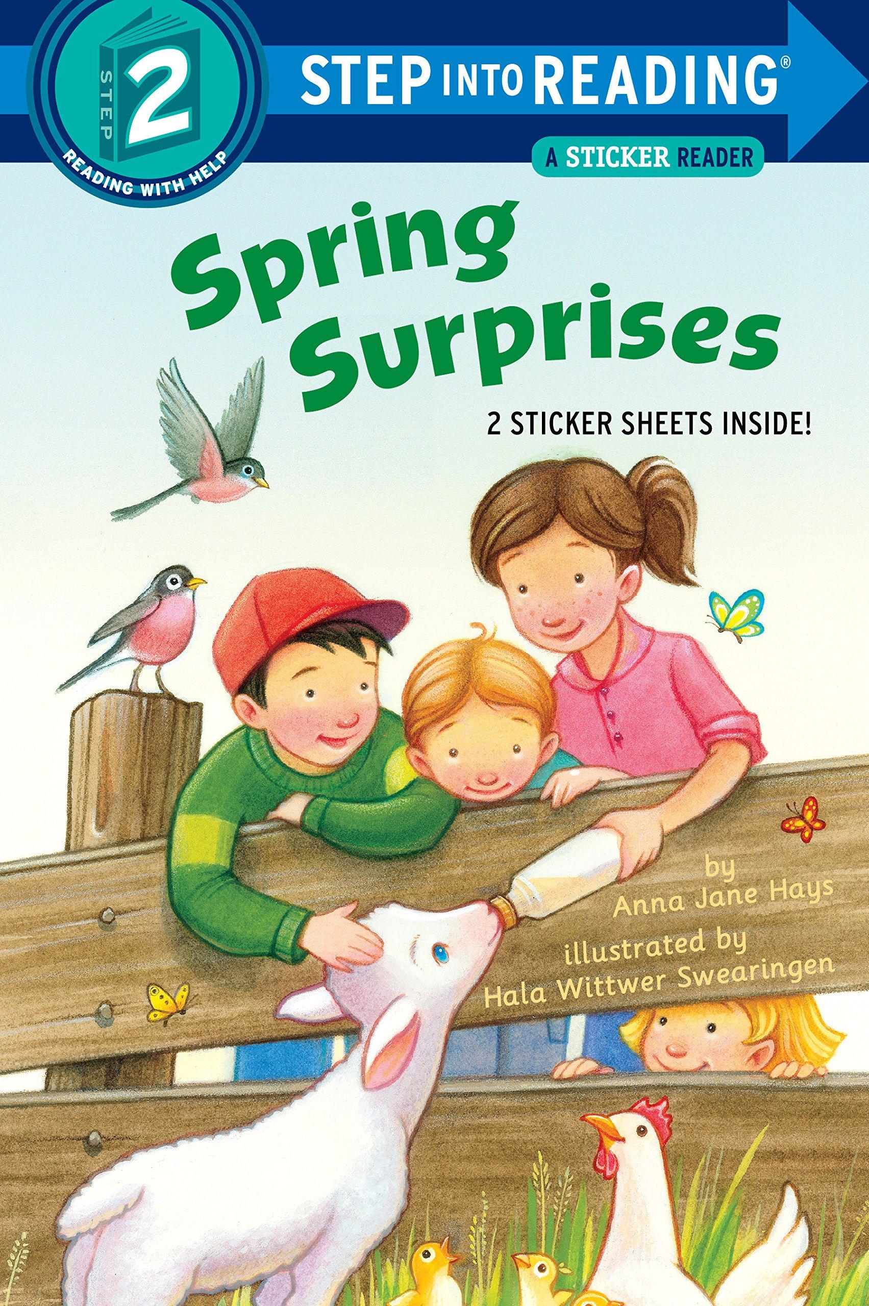Download Spring Surprises (Step into Reading) PDF ePub fb2 ebook