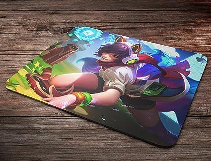 Arcade Ahri League Of Legends Mousepad: Amazon.es: Oficina y ...