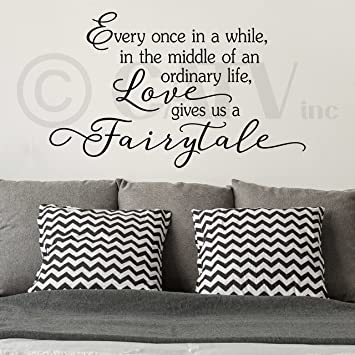 love comes along and gives us a fairytale STENCIL Reusable DIY Craft Stencil