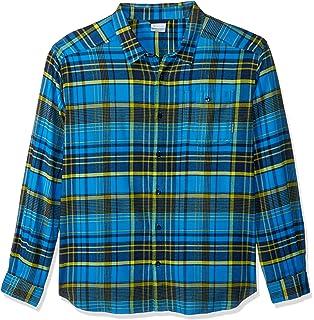 2cf0ccb4fcd Amazon.com: Columbia Men's Silver Ridge Flannel Long Sleeve Shirt ...