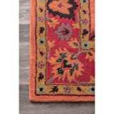 nuLOOM Charcoal Hand Tufted Montesque Area