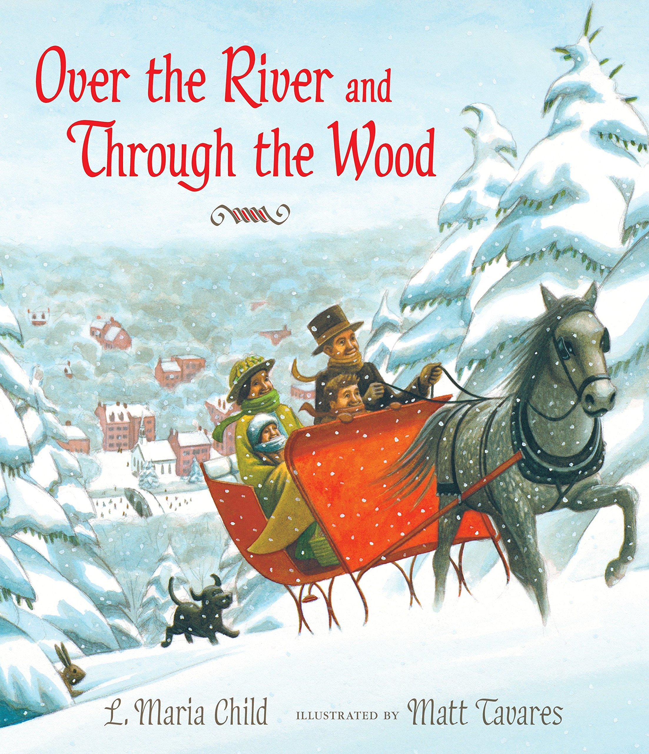 Over the River and Through the Wood: The New England Boy's Song About Thanksgiving Day PDF