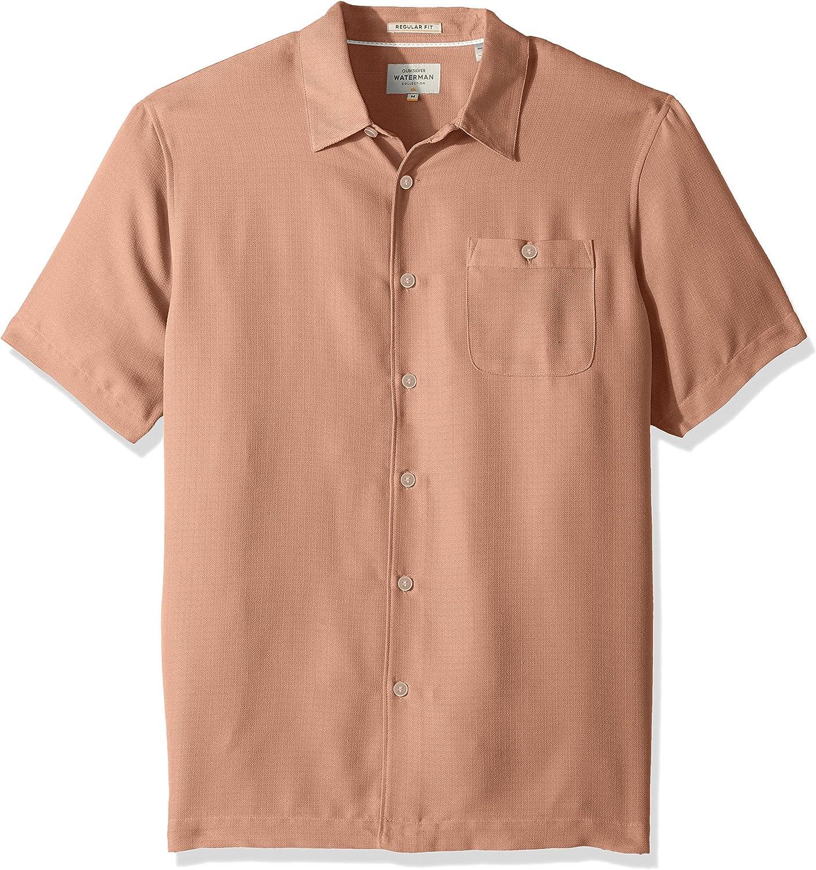 Quiksilver Hombre AVALON BUTTON DOWN SHIRT Quiksilver Waterman Avalon - Camisa de manga corta con botones para hombre Manga corta Camisa de vestir: Amazon.es: Ropa y accesorios