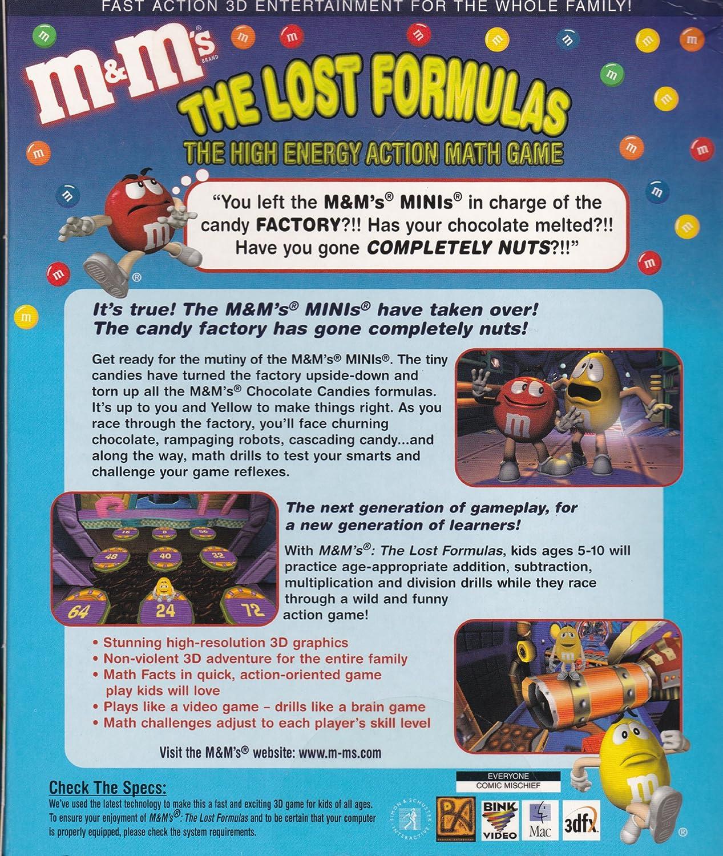 Amazon.com: M&M\'s: The Lost Formulas - PC/Mac: Video Games