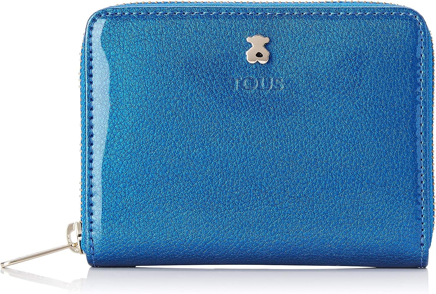 Tous Dorp - Monedero para Mujer, Azul, 13 x 11 x 2 cm ...