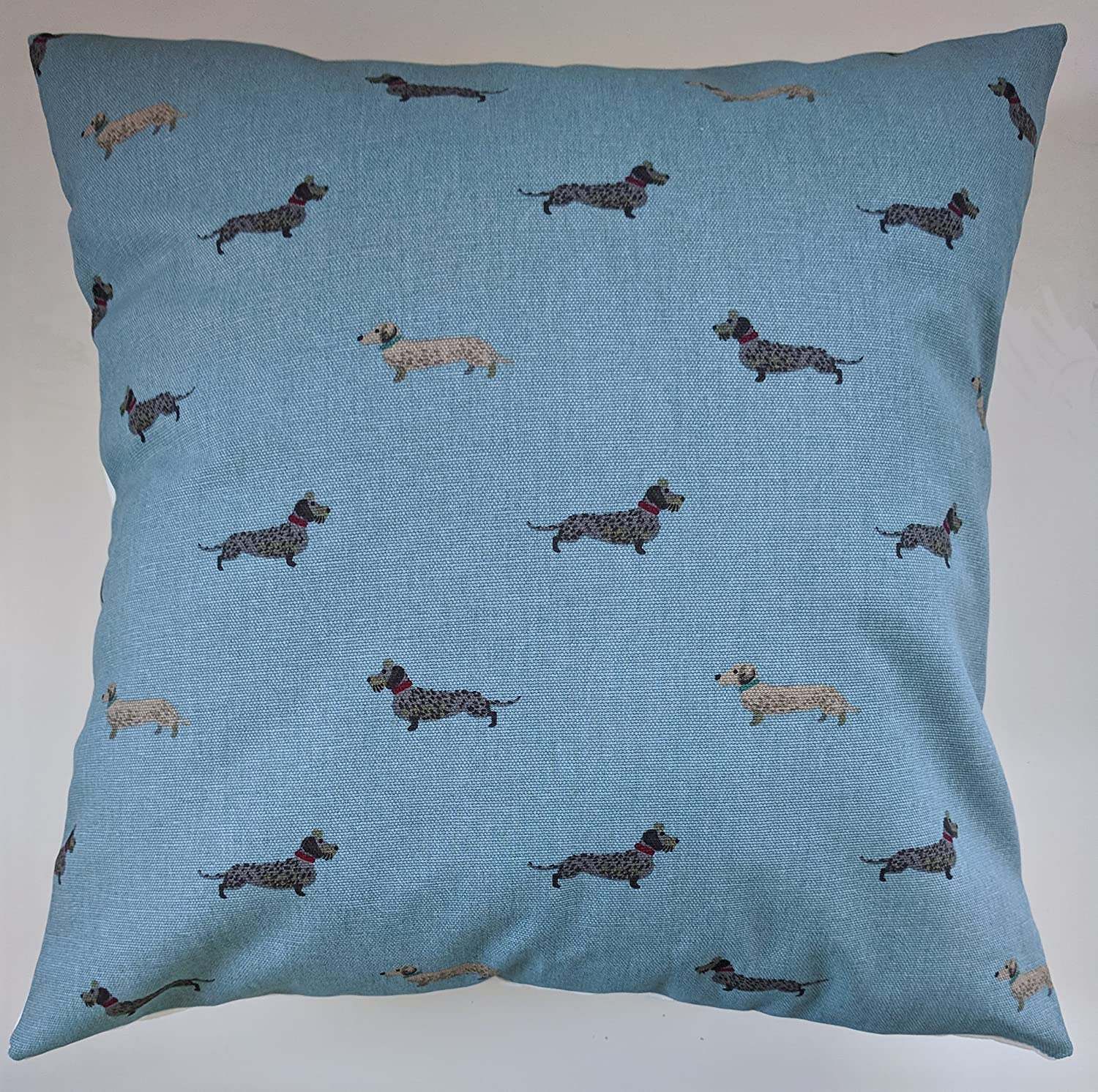 Cushion Cover in Sophie Allport Dachshund 14' 16' 18' 20' 22' 24'
