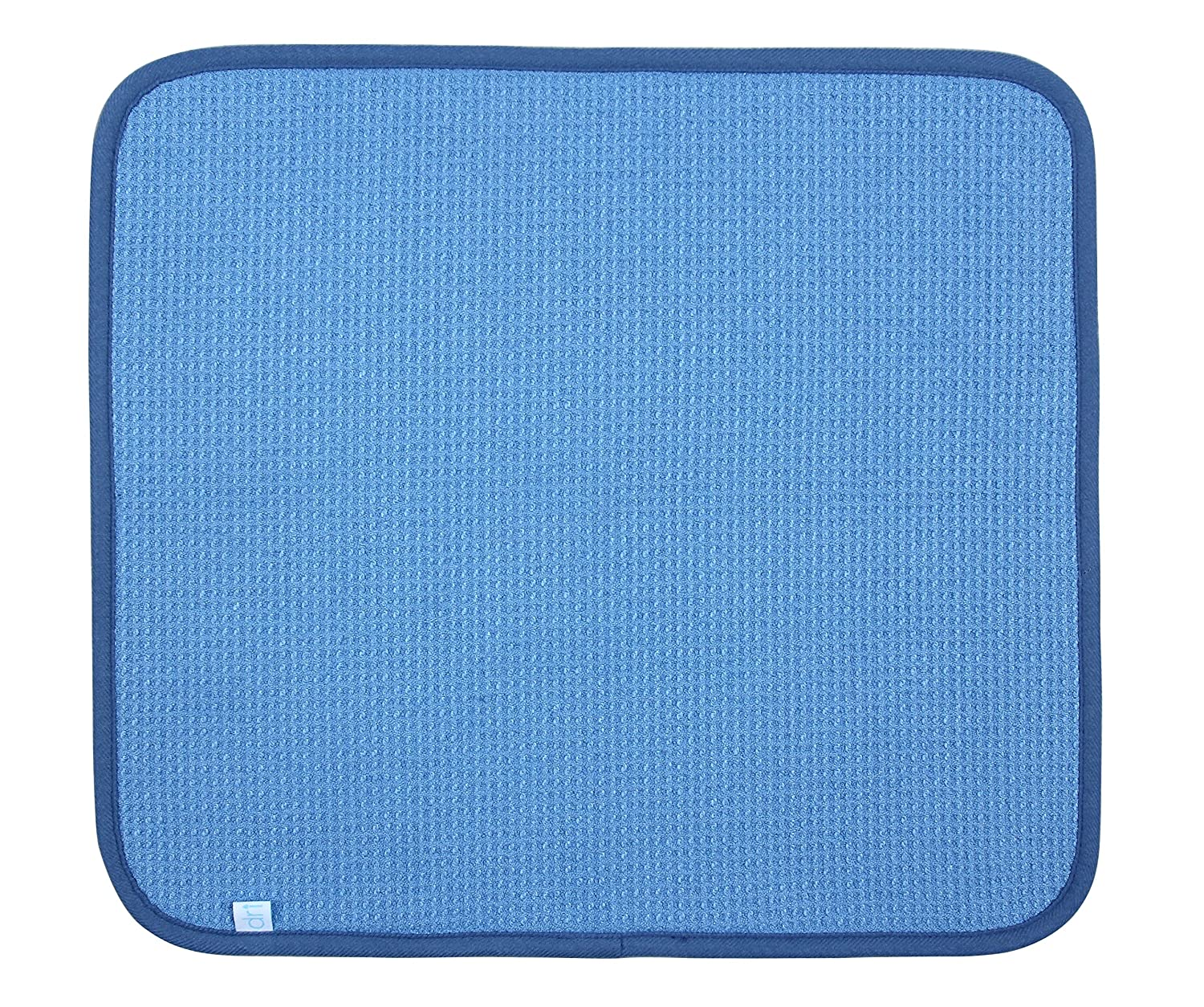DRI Kitchen Dish Drying Mat Extra Large in Blue Tricol Clean Inc