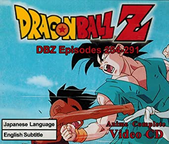 amazon com dragonball z dbz episodes 254 291 movies tv