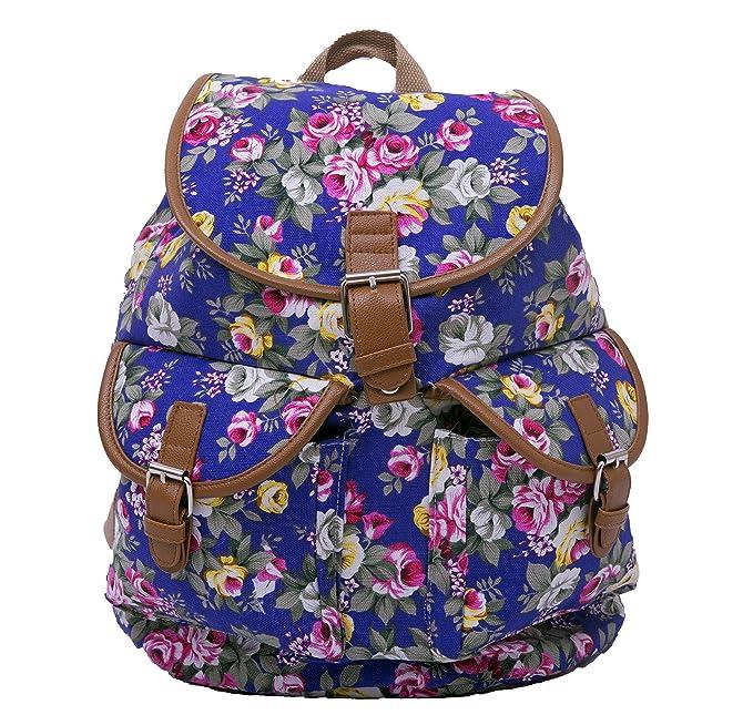 47f412dadbf40 Bravo Designer Women s Canvas Backpack