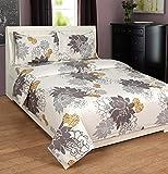 Zesture Bring Home Premium 100% Cotton Double Bedsheet With 2 Pillow Covers-(225 X 230 Cms , Multicolors)