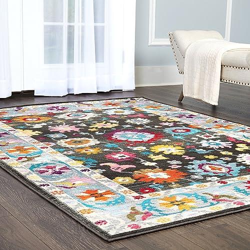 Home Dynamix 2405-100 Melody Kaylyn Modern Area Rug