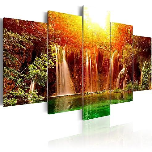 Murando - Acrylglasbild Abstrakt 100X50 Cm - 5 Teilig - Glasbilder