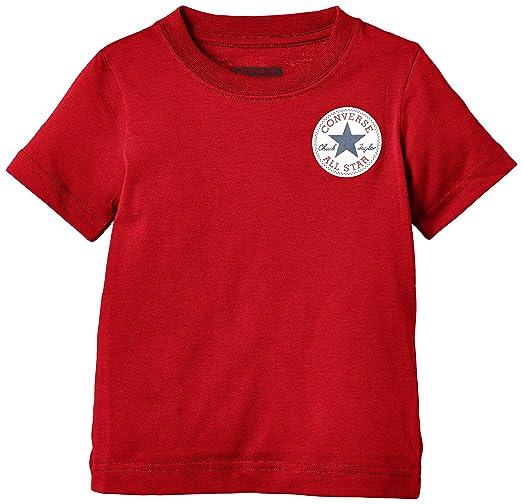 20 opinioni per Converse Left Chest-T-shirt Bambini e ragazzi, Red (Days Ahead) 6-7 anni