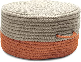 product image for Colonial Mills Two-Tone Pouf ON41 Ottoman
