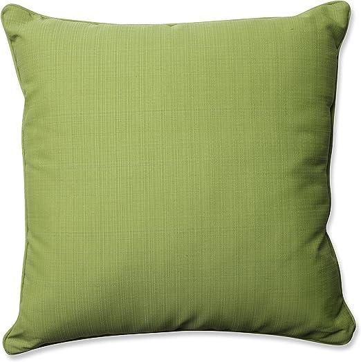 25 Pear//Green Solid Pillow Perfect Outdoor//Indoor Fresco Floor Pillow