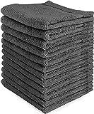 Utopia Towels Premium 700 GSM Washcloths 12-Pack (GREY)