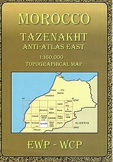 Atlas Mountains Morocco Maps: Taroudant: Anti-atlas and ... on