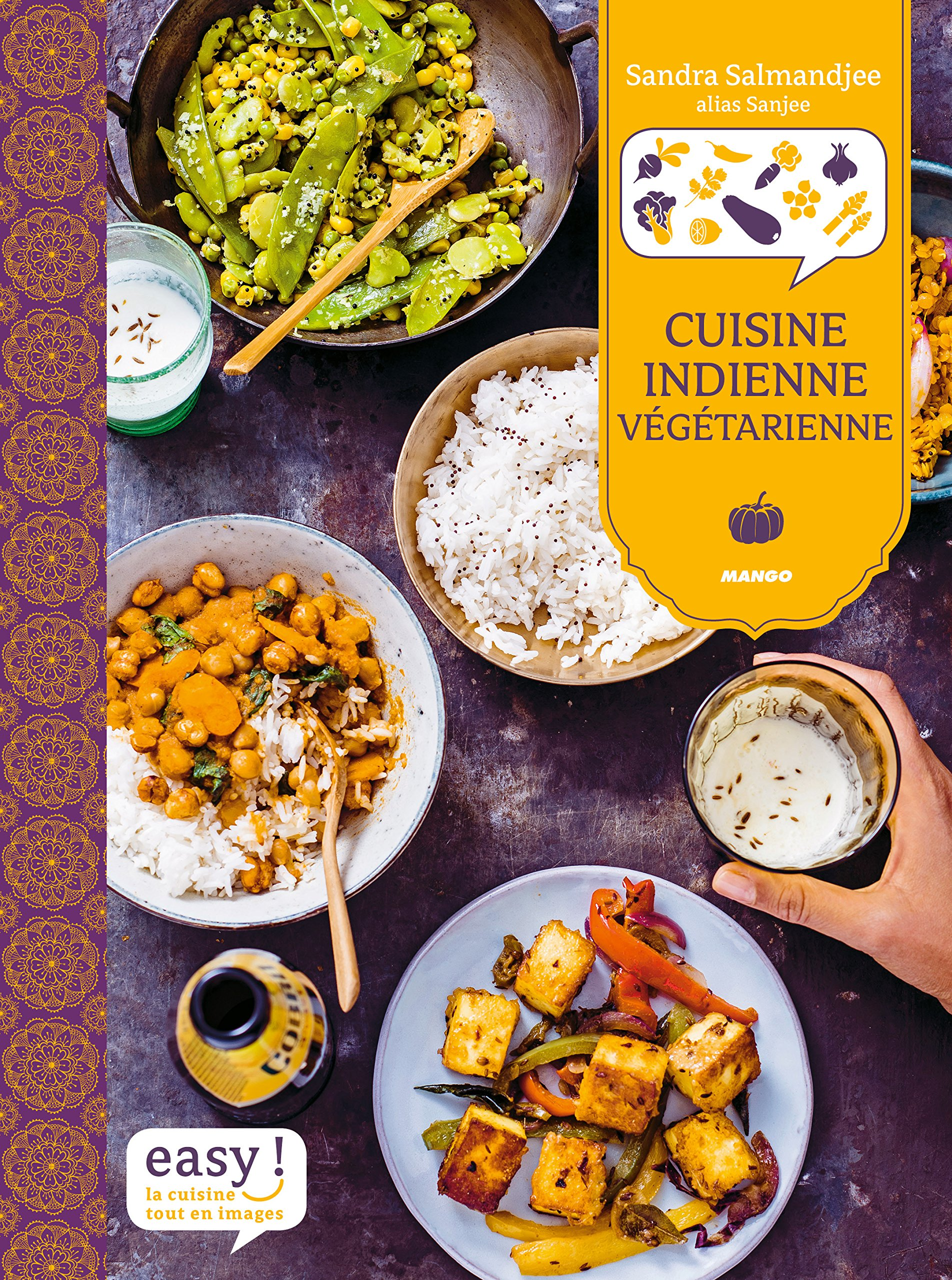 Amazon Fr Cuisine Indienne Vegetarienne Sandra Salmandjee