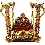 GiftNagri Handicrafted Pooja Jhula | Swing | Palana | Nand Gopal Palana